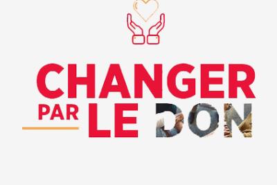 changer par le don