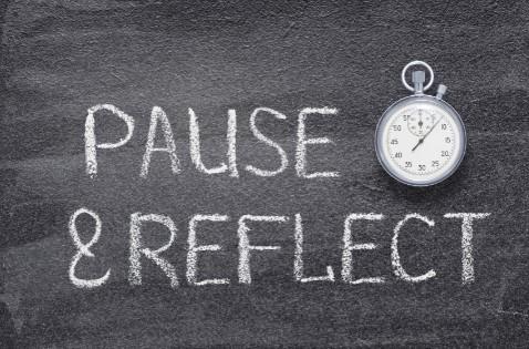 Pause et réflexion